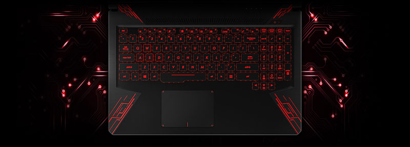 ASUS-TUF-Gaming-FX504GD.Keyboard-&-Touchpad