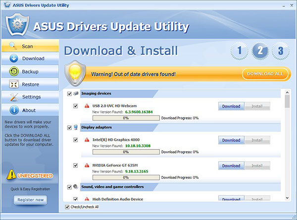 Asus-laptop-drivers