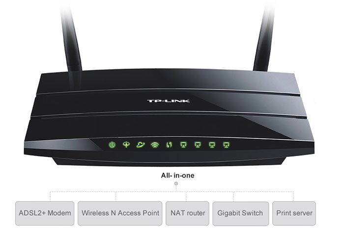 TP-Link-TD-W8970-Modem-Router-All-in-one-Device