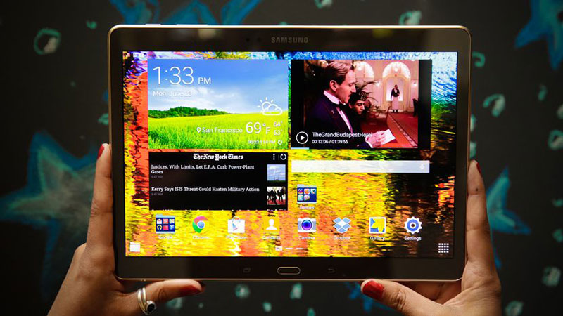 Tablet-Display
