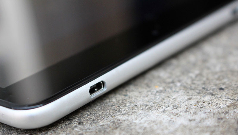 Tablet-Micro-USB Port